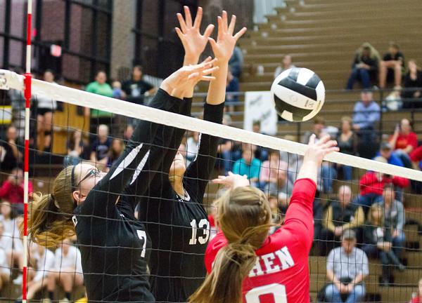 Volleyball Regional: Goshen vs. Northridge