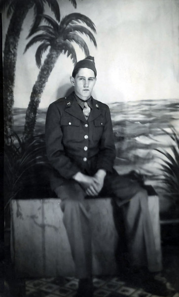Frank Clark, US Army