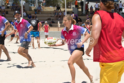 Beach Touch Rugby 2018