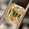 5.35ct Fancy Brownish Yellow Emerald Cut Diamond, GIA SI2 5