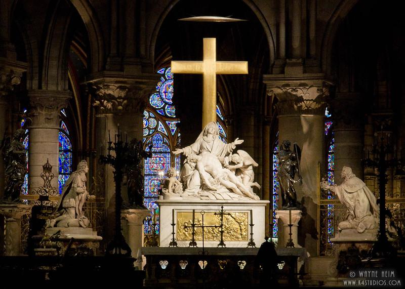 Behind the Main Altar      Photography by Wayne Heim