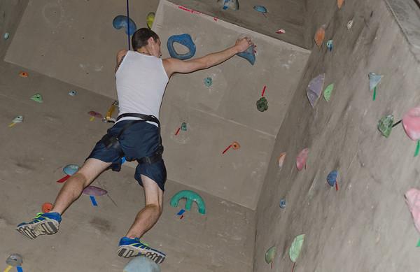 Halloween climbing wall