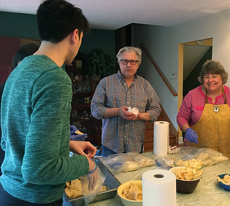 pierogi making - 2017 November 24