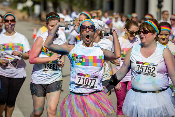 The color run St. Louis 2014 pictures