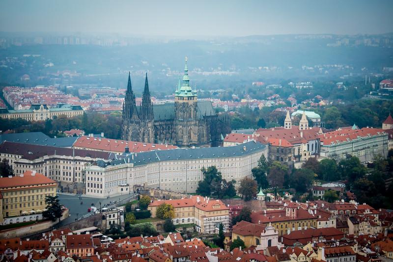 Viewing Prague Castle