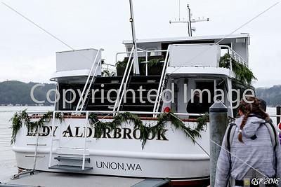Lady Alderbrook Santa Cruise 11-26-16