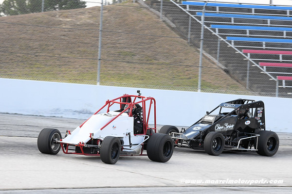 Houston Motorsports Park Sprint Car Test