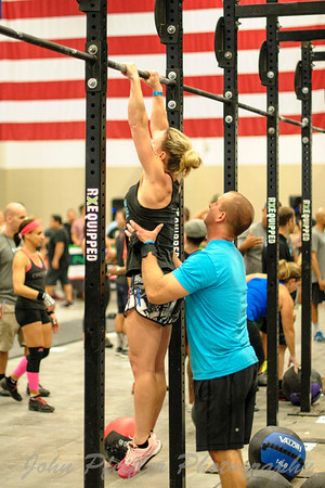 Clash of the Fittest 2015 WOD2