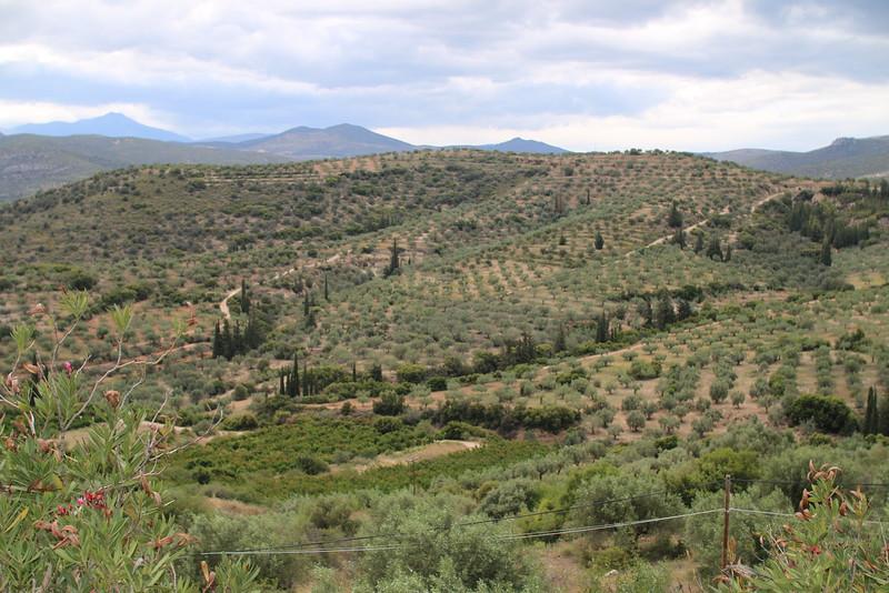 Countryside near Corinth