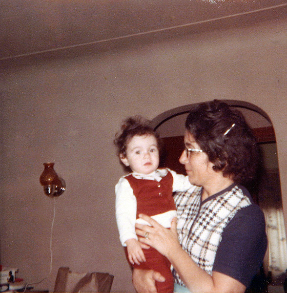 Sherry & Grandma Dec 1966.JPG