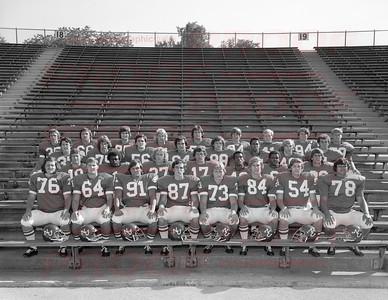 Northwestern Wildcat Football 1973 to 1976