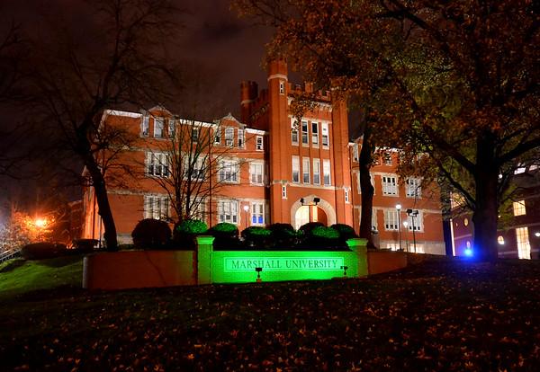 Old Main-Green Light-Nov. 2015-Rick Haye