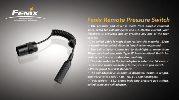 Fenix Pressure Switch