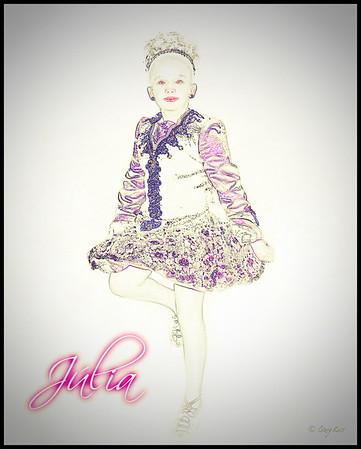 Julia Kelly  Irish Dance Outfit