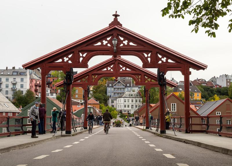 Old Town Bridge, Trondheim