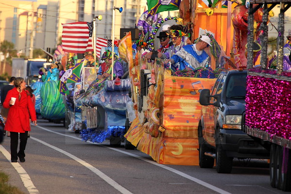 Mystics of Pleasure~Mardi Gras Orange Beach AL 2013