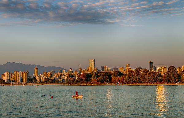 Kitsilano Sunset ~ Vancouver, B.C.