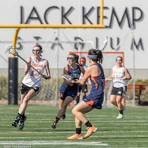 Occidental vs. Pomona-Pitzer Women's Lacrosse, 27 Feb 2016