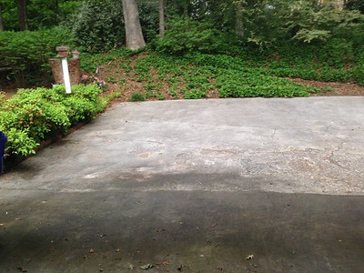 Repaveing Driveway and Front Walkway 4-27-17