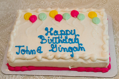 Gingam and John Birthday 2014