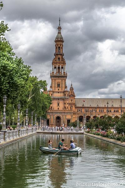 Seville Spain, Aug. 2018