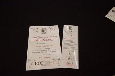 EOI Graduation 2013