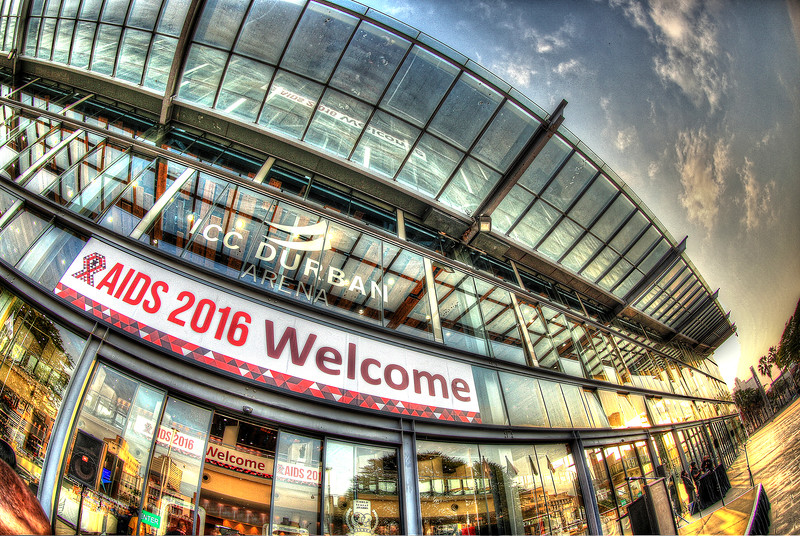 21st International AIDS Conference (AIDS 2016), Durban, South Africa. Sunrise Branding Images of Durban ICC Photo©International AIDS Society/Abhi Indrarajan