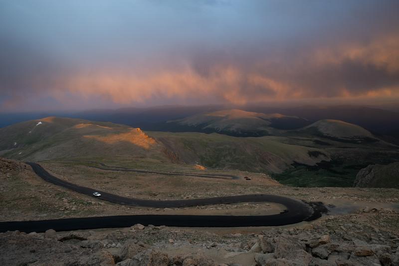 Mount Evans Sunset