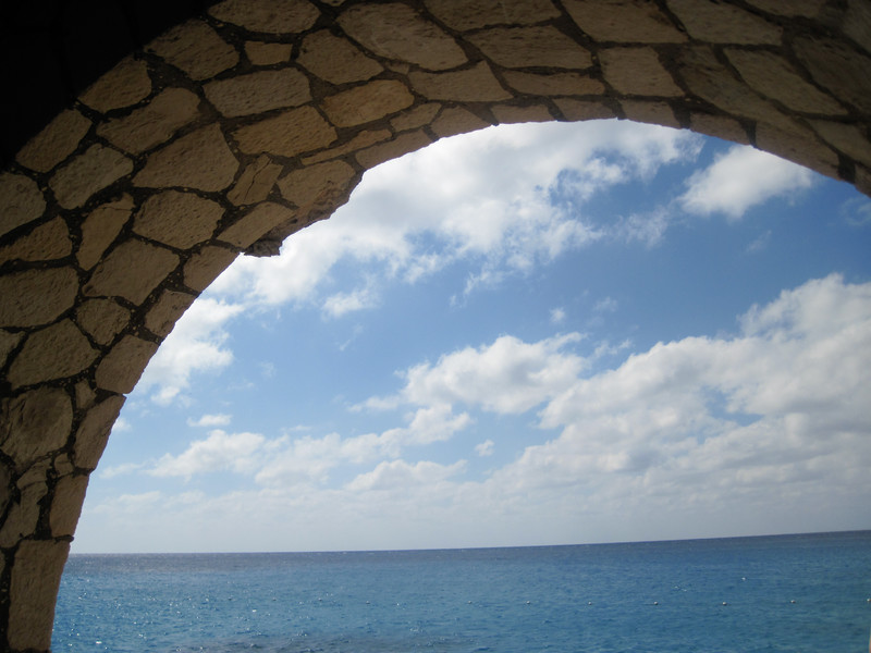 Out Archway of Moonbeam Cave