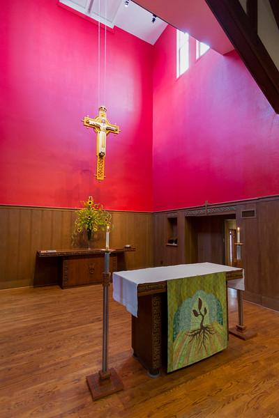 St. Stephen's altar is now quiet.