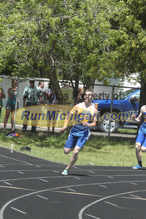 UP Boys' 400 Meters - 2014 MHSAA T& Finals