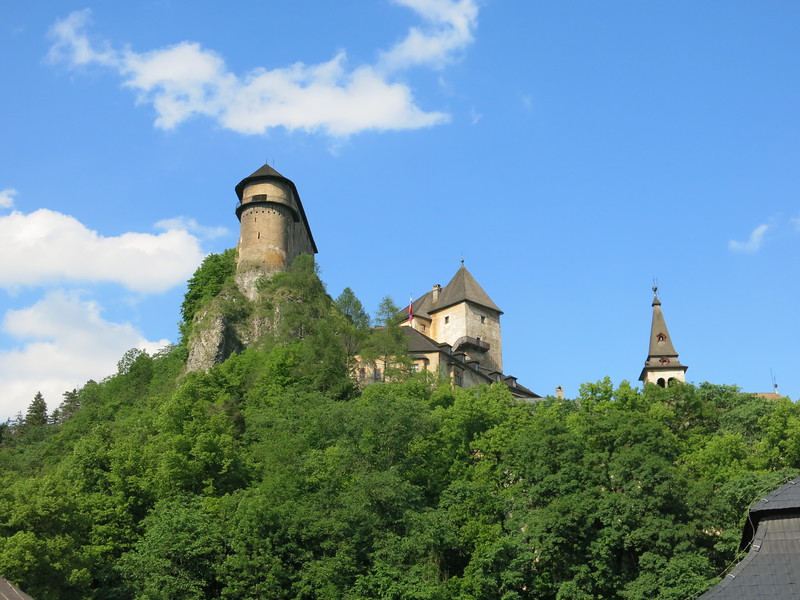 Oravsky Hrad, home to Nosferatu according to the movie