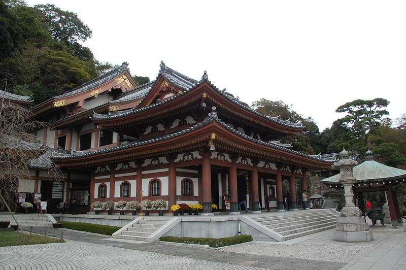 Kannon-do Hall at Hasadera Temple