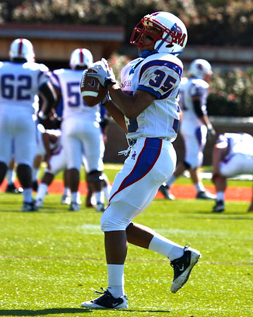 Football: SENIOR DAY: St. Johns vs DeMatha