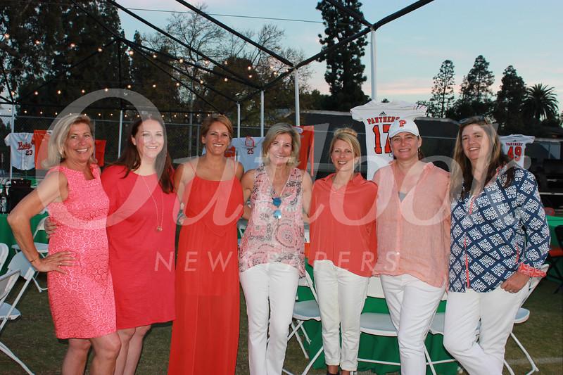 Leslie Clayton, Lori MacPherson, Meghan Stimmler, Kim D'Amico, Denise Mathews, Lyn Salembier and Eileen Williamson