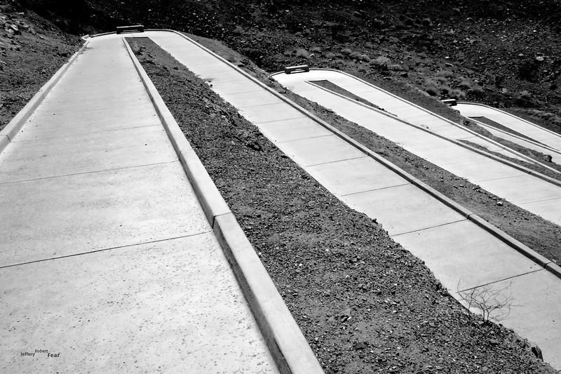 Three Benches Descending
