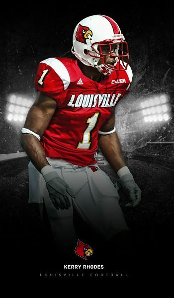 Kerry Rhodes Louisville Cardinals