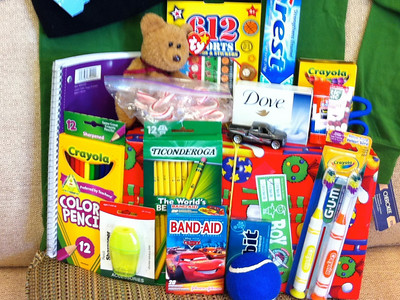 Operation Christmas Child - Example Box