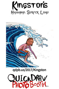 Kingston's Hawaiian Surfer Luau