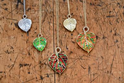 Amy Y's Aspen Leaf Designs
