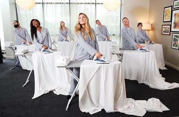05/11/18 - Hilton Garden Inn Heathrow launches an Ironing Club