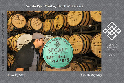 Laws Whiskey House Secale Rye Launch