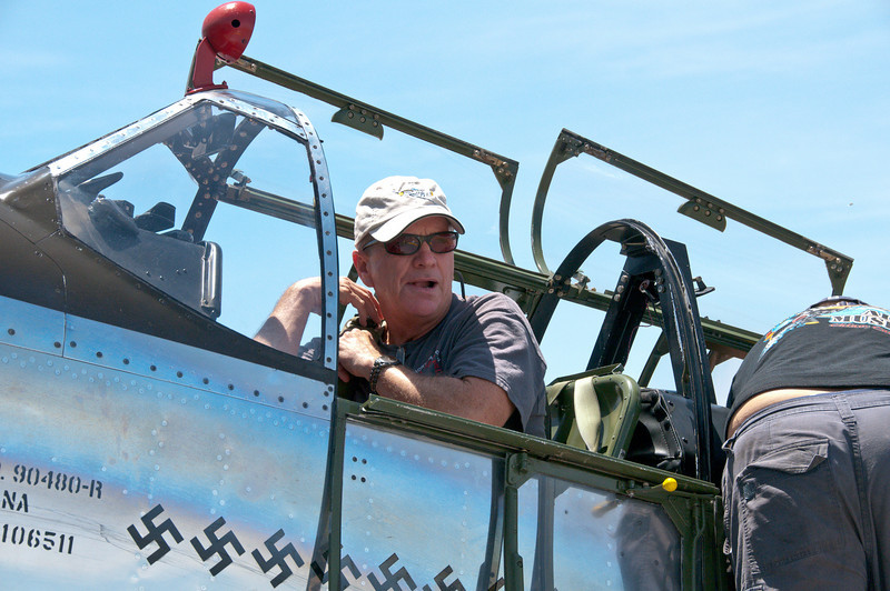 John R. (Bob) Blankenship, Collings Foundation P-51 pilot and captain with Southwest Airlines.