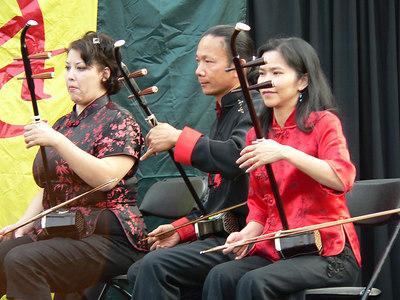 Erhu (Chinese) Music and Sword Dance