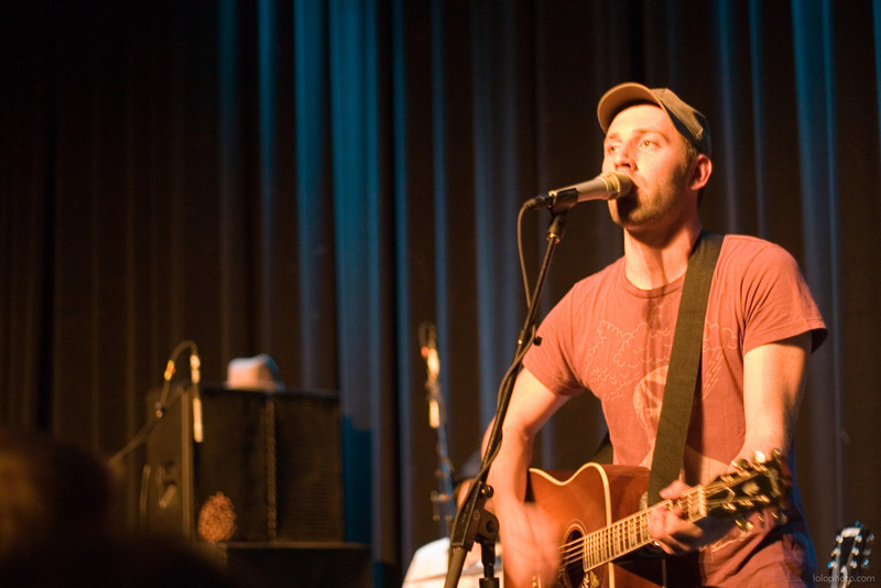 Mat Kearney in Lake Tahoe