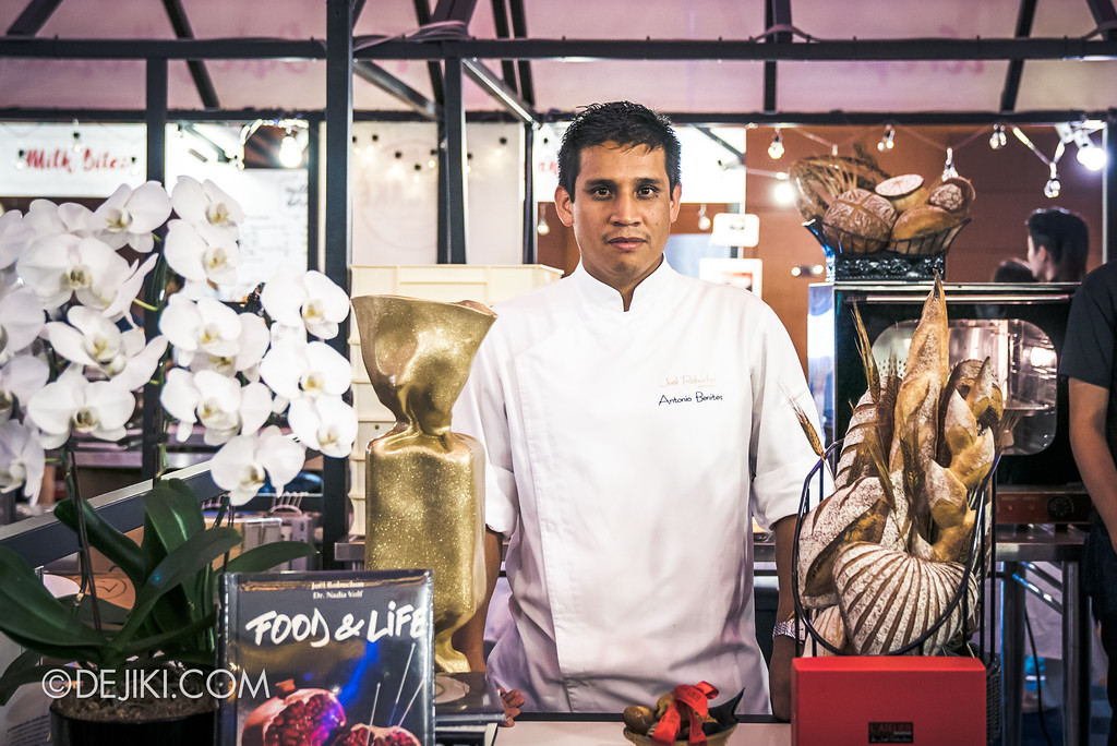 The Great Food Festival RWS - Rollin' Sweet Times / Antonio Benites from Joel Robuchon