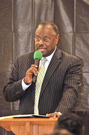 Pastor Ceasar Monroe Retirement Ceremony