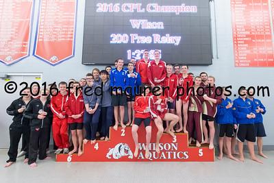 2/19/2016  Penn League Swimming Championship