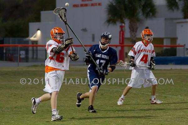 Boone Varsity Lacrosse #24-26 - 2011
