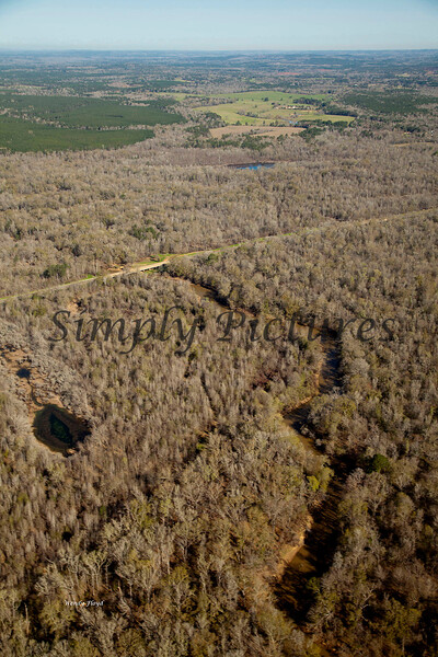 Neches River from the Air  045 copy